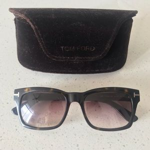 Tom Ford Frederik TF 494 Sunglasses Havana Brown
